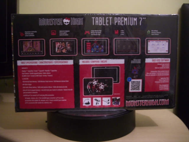 Monster High Tablet Premium 7'' Ingo
