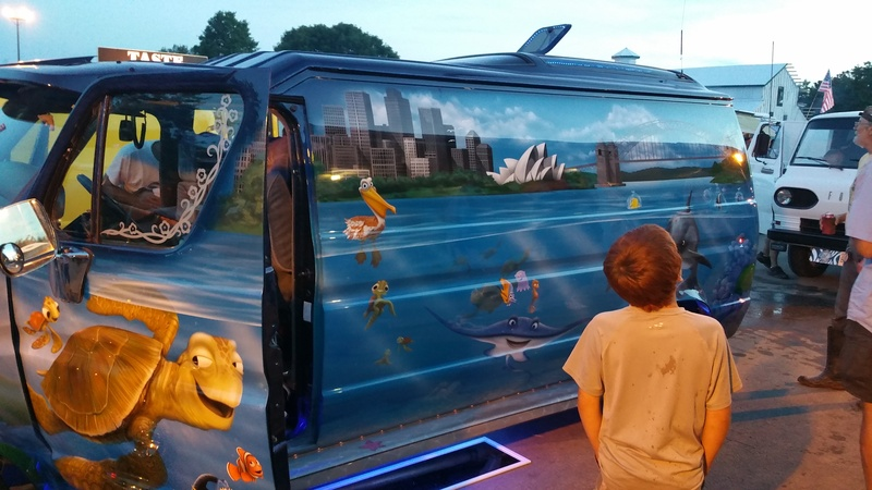 Van on show  / Nemo