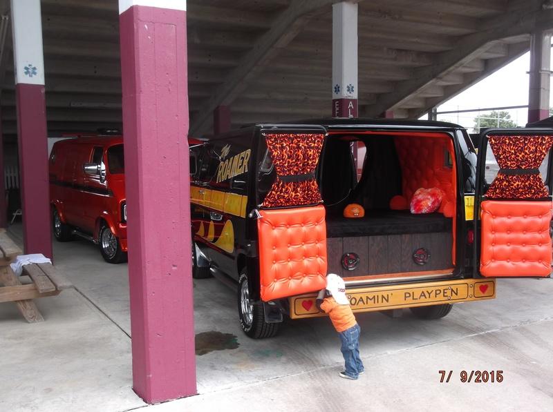 Richard Jackson's Back of van