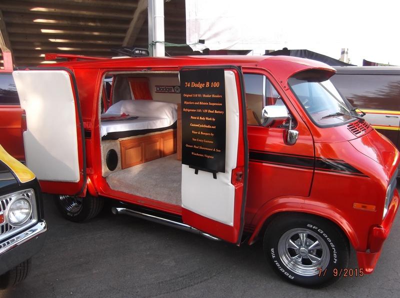 Paul Shoremount' van