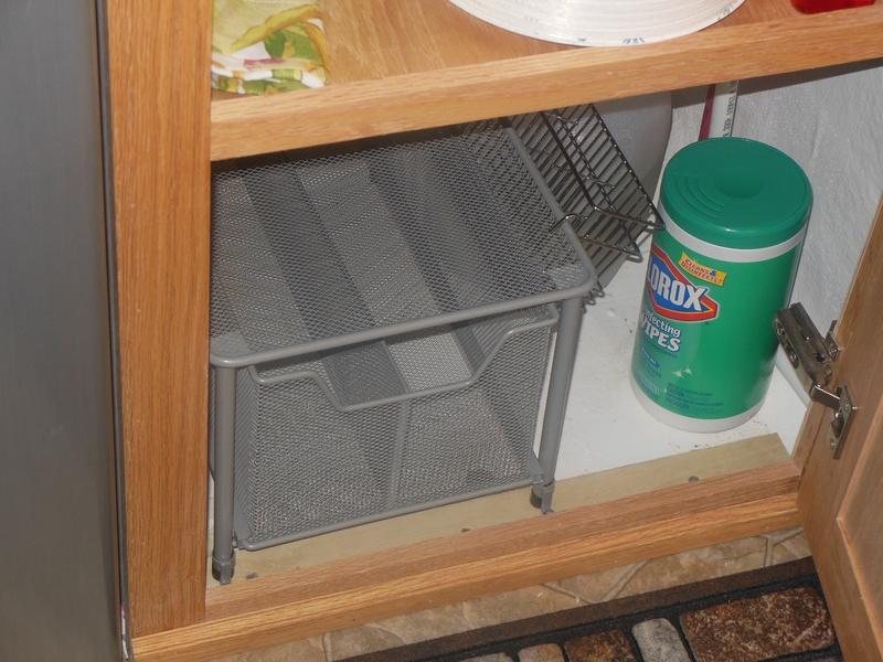 Under the sink drawer unit.