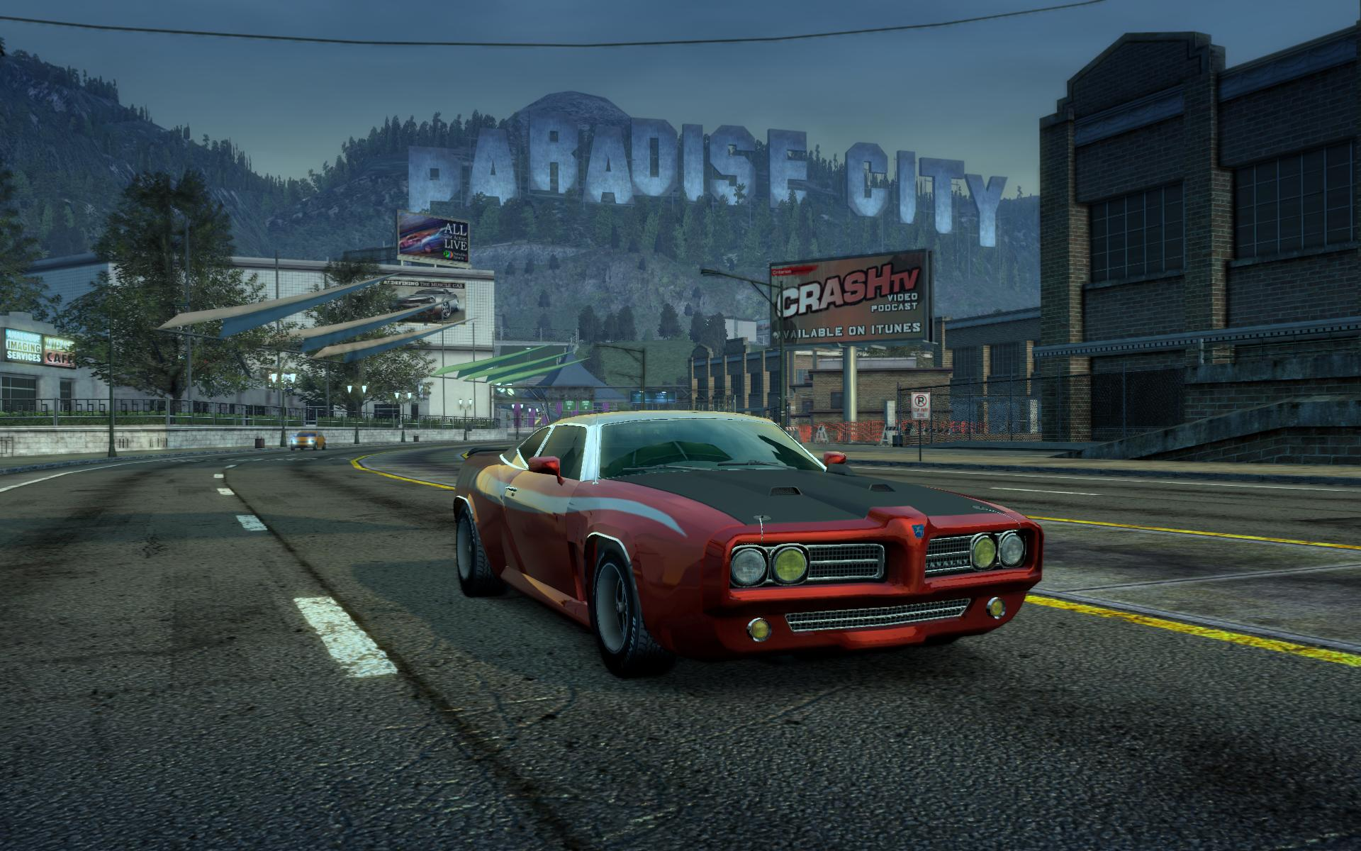 Paradise City sign