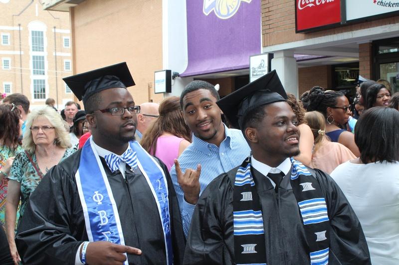 Graduation of Deondrick and De'Jhan