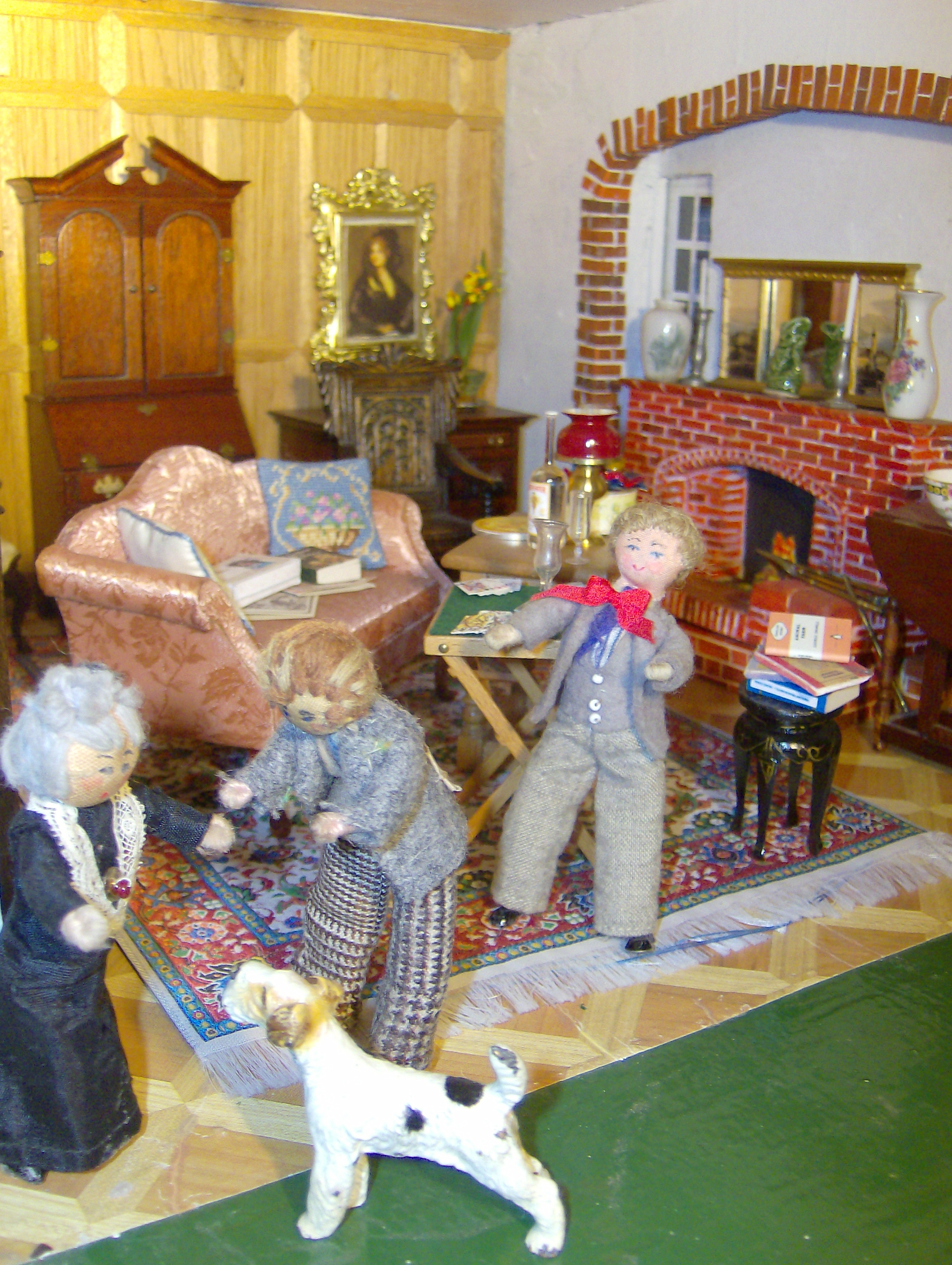 Norah showed Edith into the drawing room and Bryan went forward to greet their cantankerous visitor,