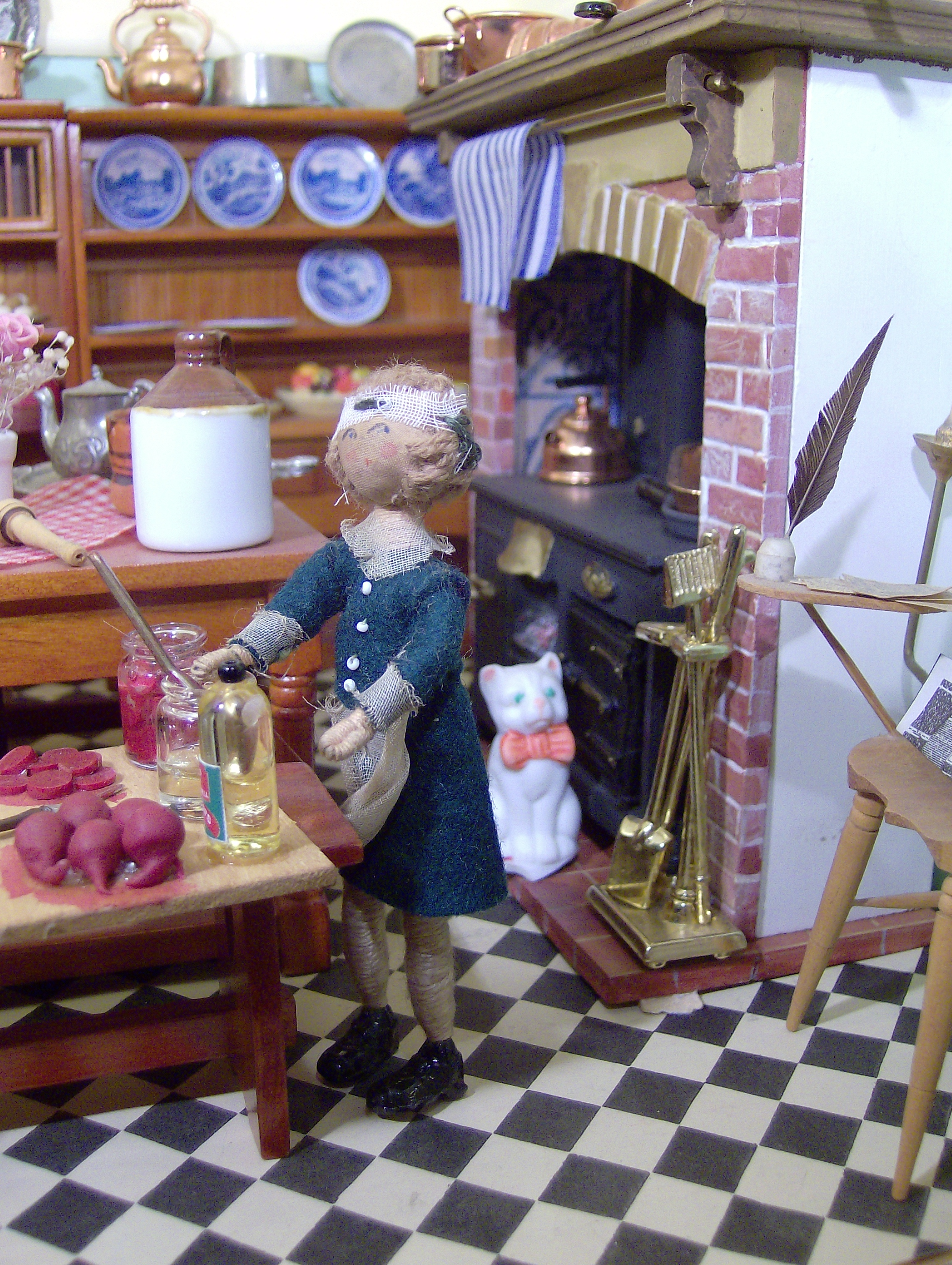 """Norah wasn't into antiques herself. From a simple Dol-Toi furnished home, and a family """"no-nonsense"""" approach -"""
