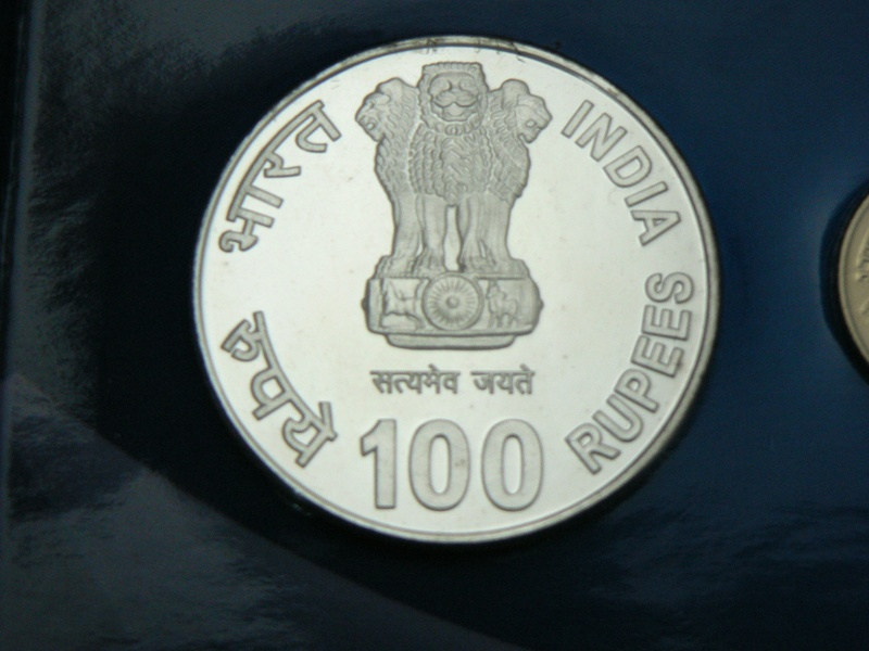 XIX COMMON WEALTH GAMES COMMEMORATE 100Rs COIN