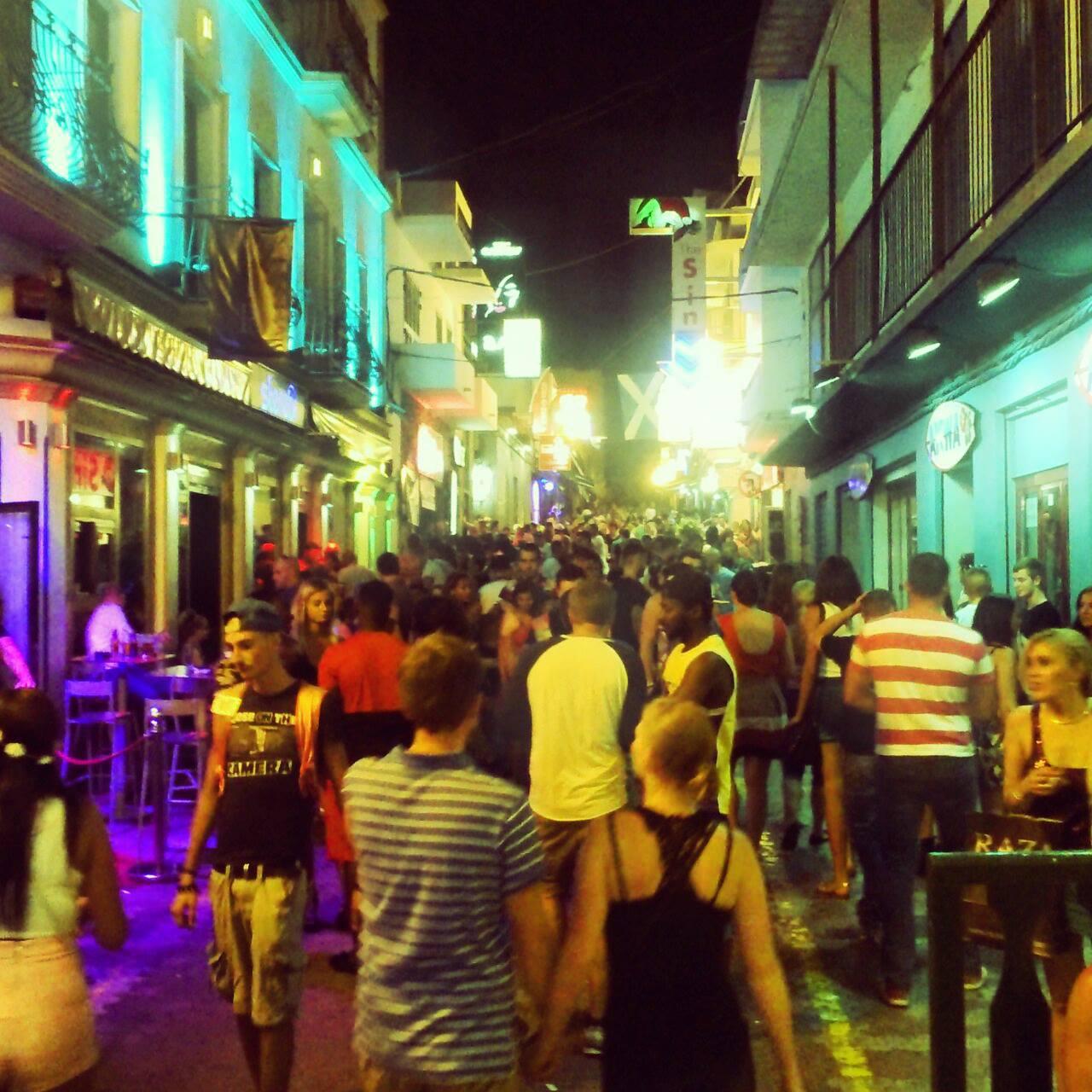 Laze Teleckog ulica - Sant Antoni de Portmany