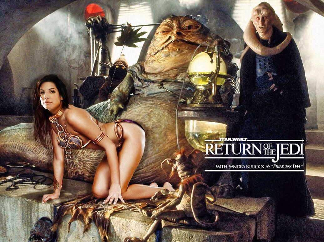 Sandra Bullock as Jabba's Slave