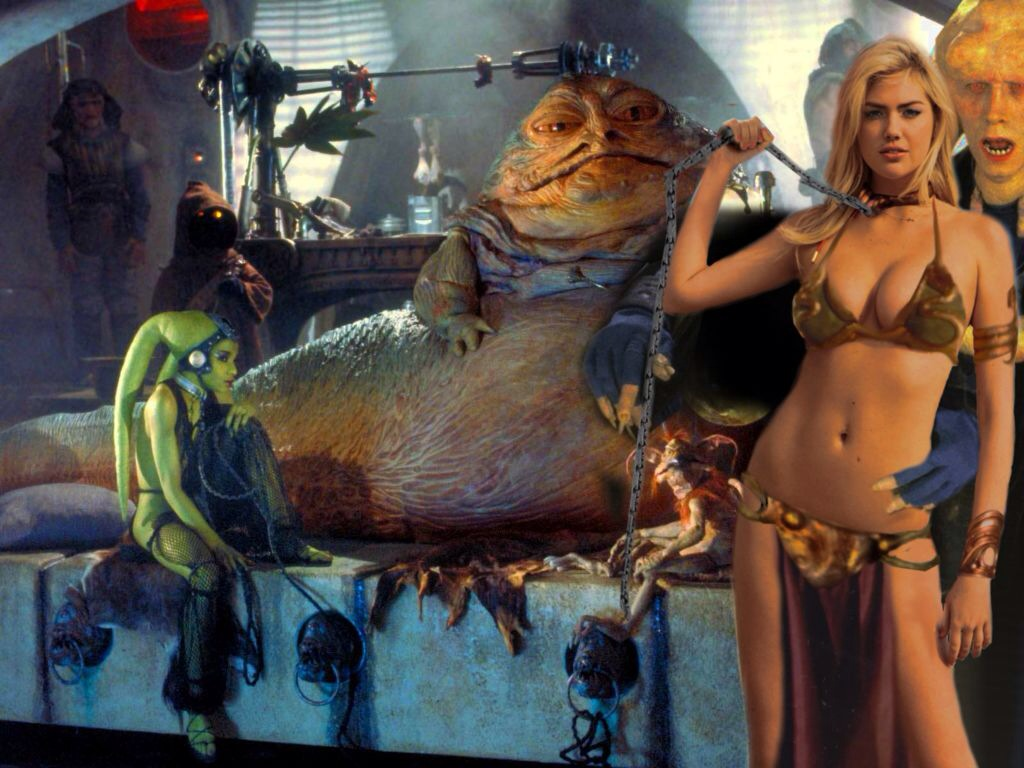 Kate Upton as Jabba's Slave