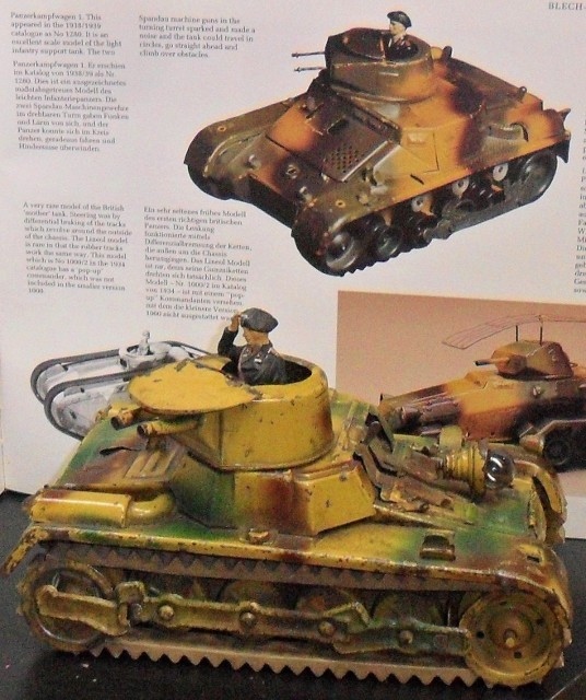 Lineol pre-war Panzer