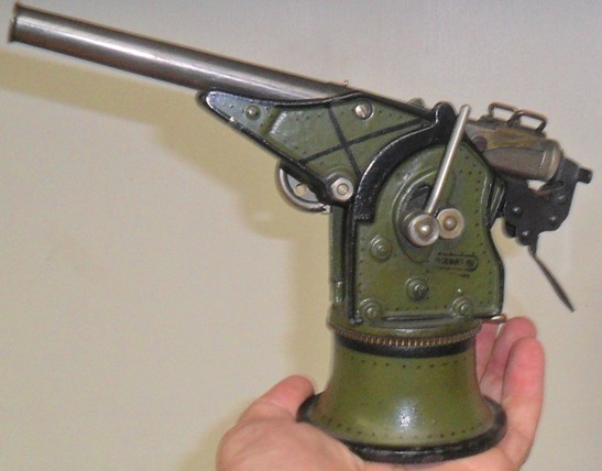 Pre-WWI Marklin coastel gun