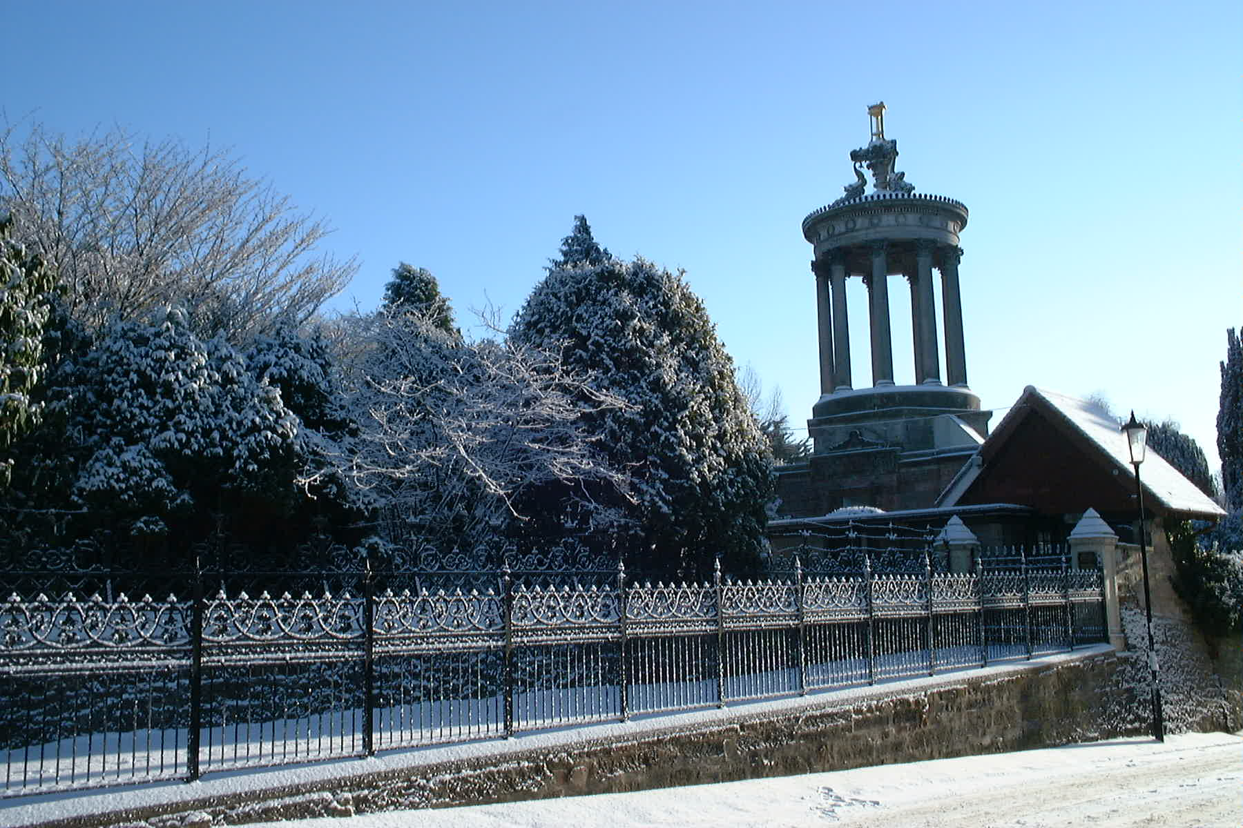 Burns Monument, Ayr, Jan 5th 2010 by Reg Tait