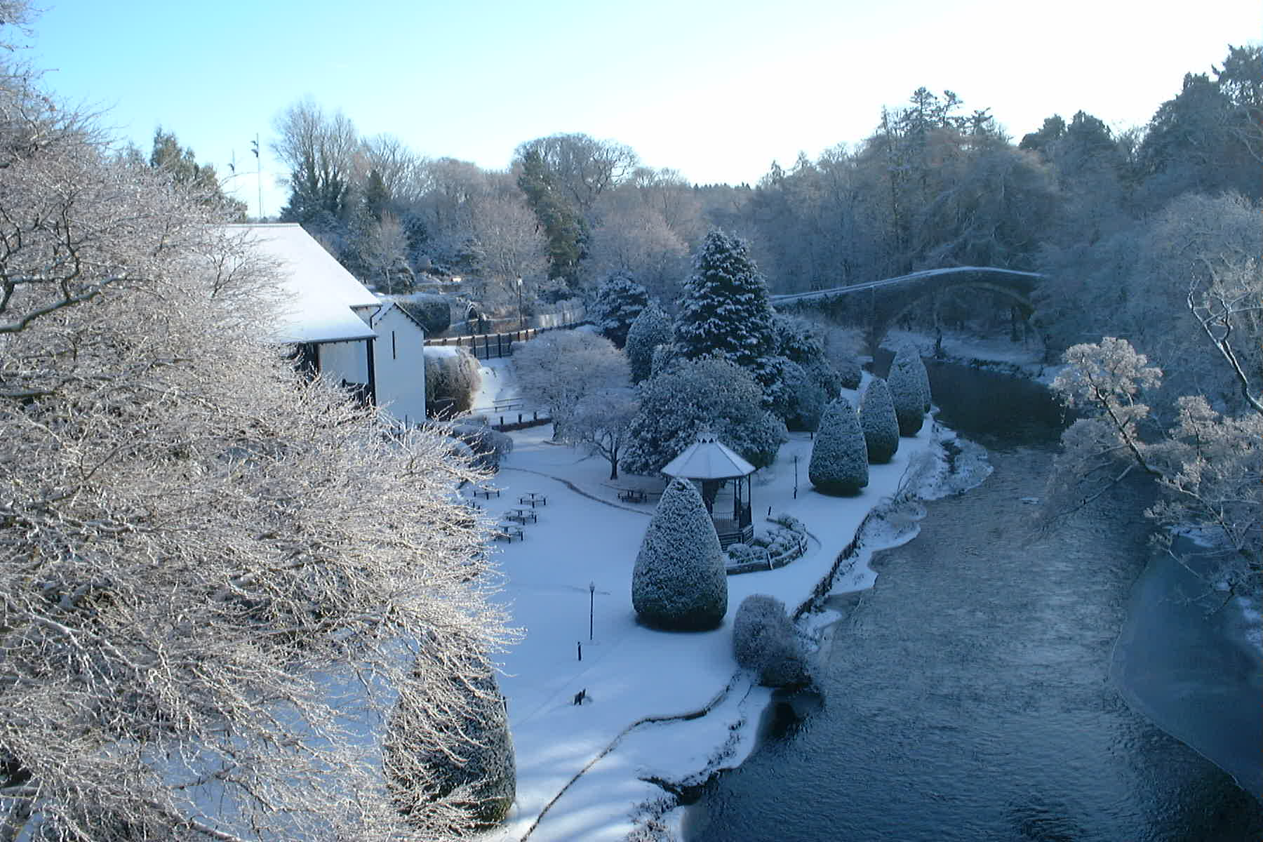 Brig O' Doon, Ayr, Jan 5th 2010 by Reg Tait