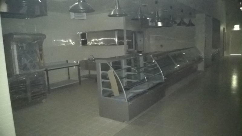 meat and fish section