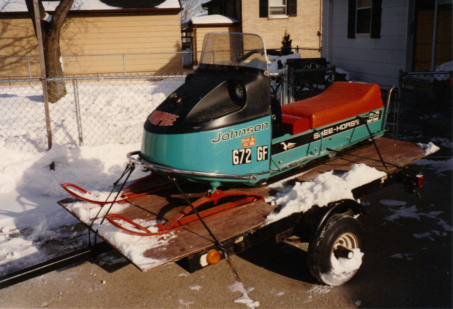 Vintage Evinrude Snowmobiles