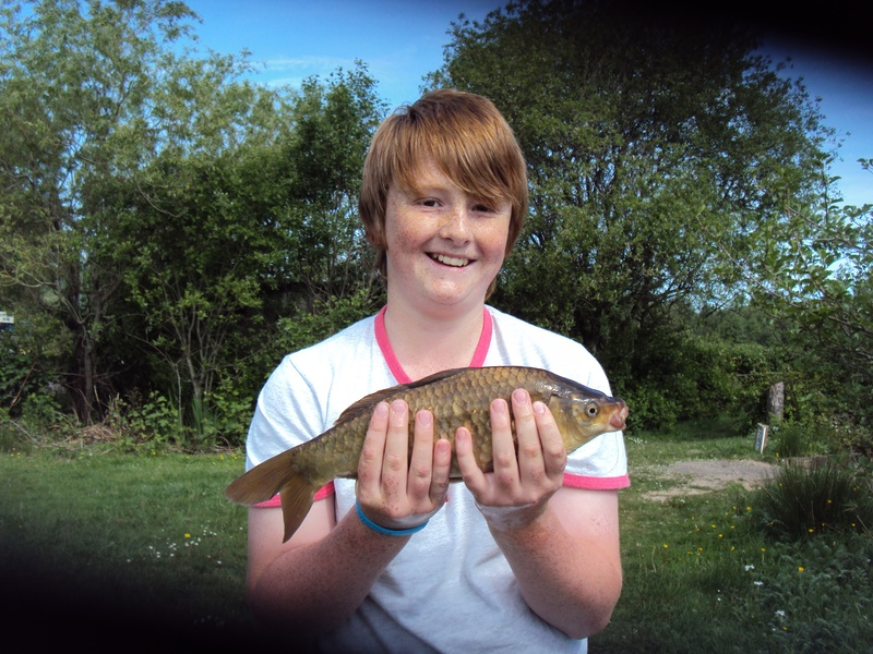 2lb common first carp
