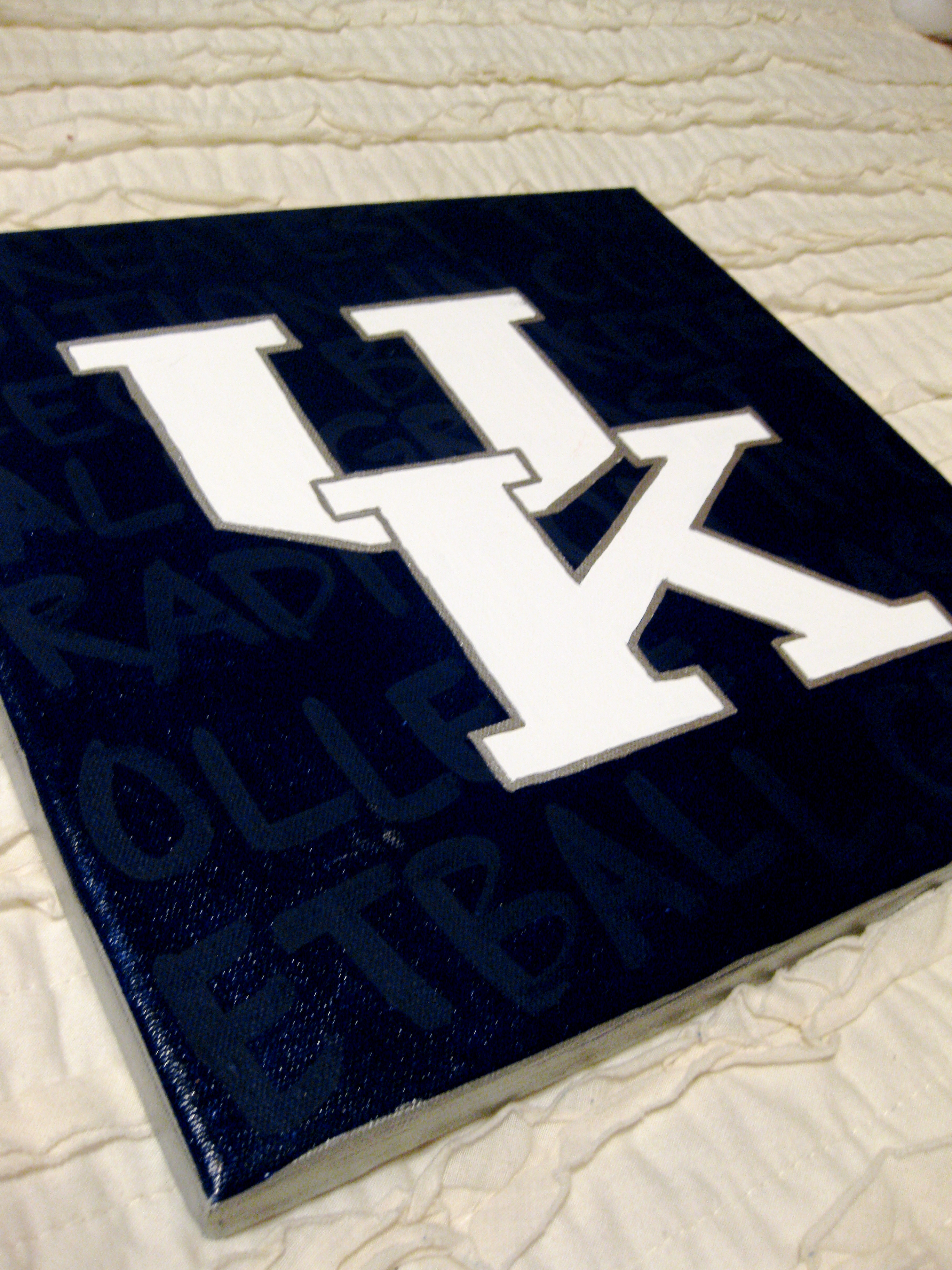 """UK - """"Greatest tradition in college basketball"""" background"""