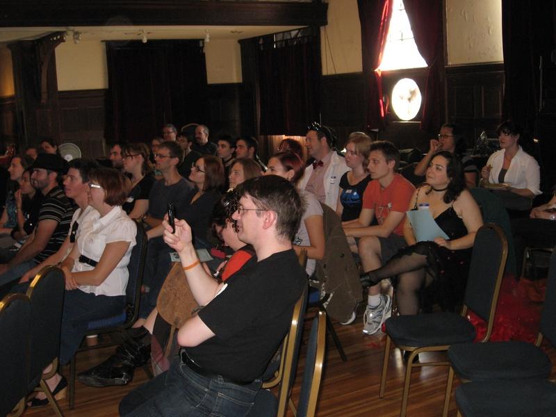 Spellbound audience