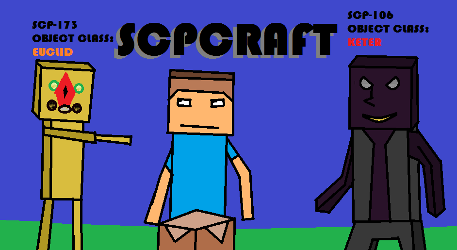 SCPCraft with 173 and 106