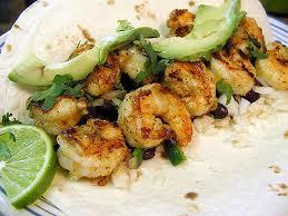 Shrimp Burritos Mmmmm!