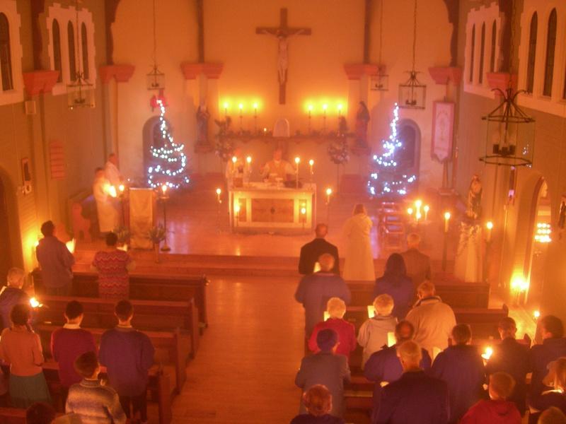 Midnight Mass - the Consecration