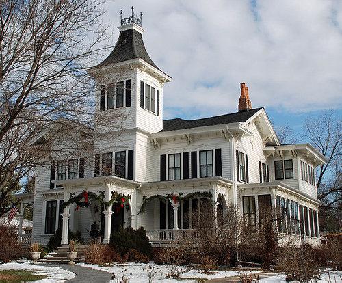 The LeRoy house