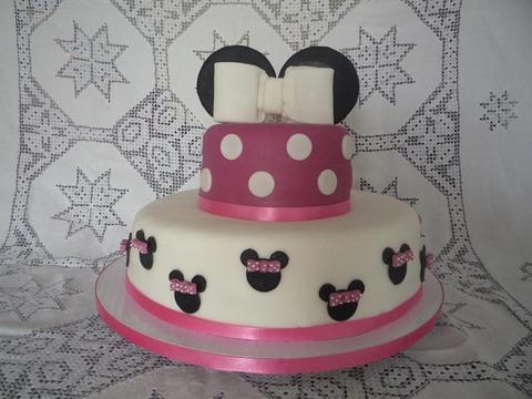 Tortas de Minnie Mouse bebé - Imagui