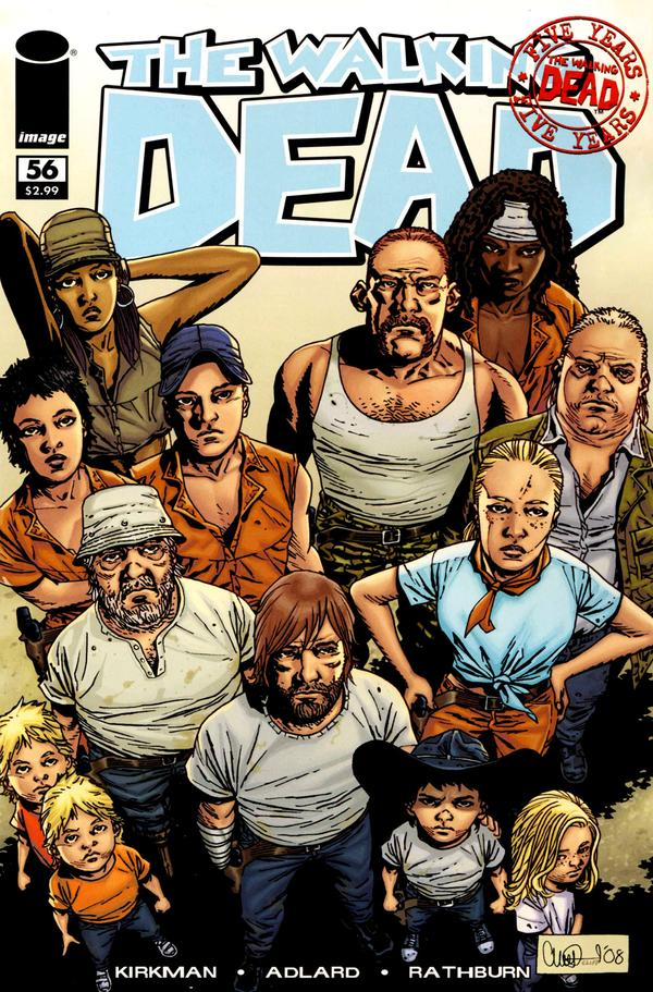 The Walking Dead # 56