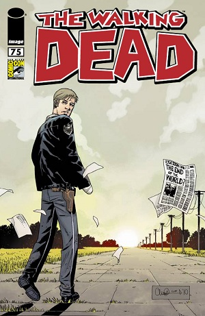 The Walking Dead # 75 [2010 SDCC Exclusive, Variant Cover]