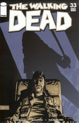 The Walking Dead # 33 [2nd print - Blue cover]