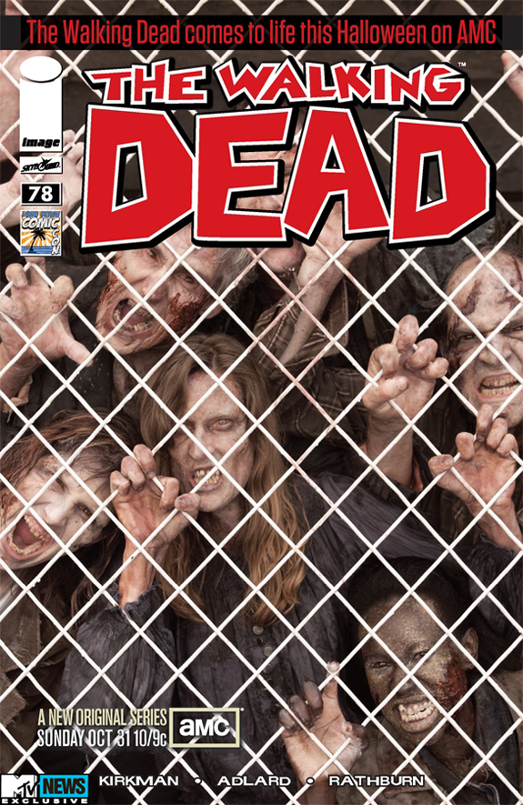 The Walking Dead # 78 lbcc variant