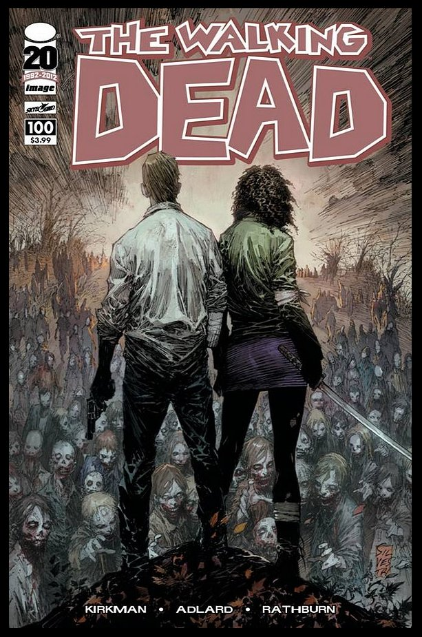 The Walking Dead # 100 Marc silvestri Variant