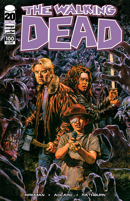 The Walking Dead # 100 sean phillips Variant