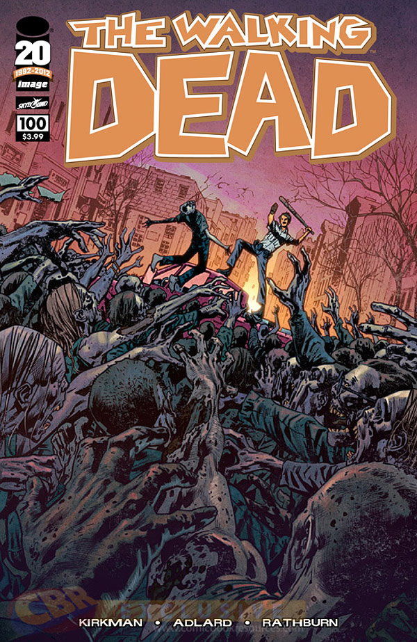The Walking Dead # 100 Bryan Hitch Variant