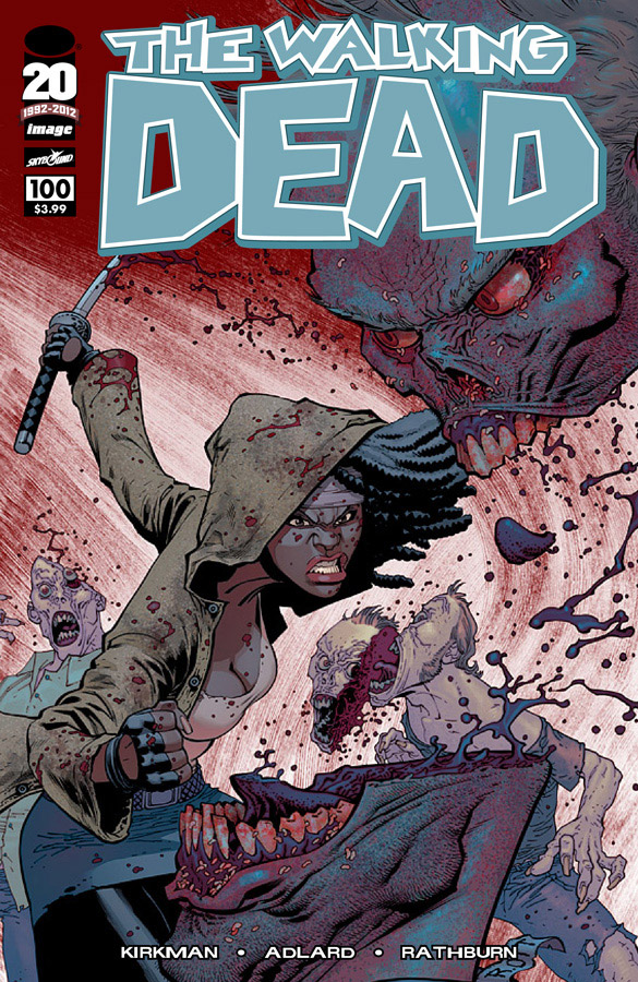 The Walking Dead # 100 Ryan Ottley variant