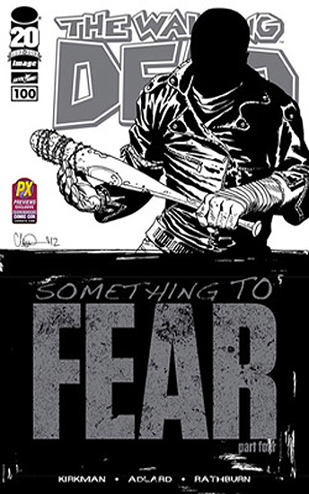 The Walking Dead # 100 Previews exclusive