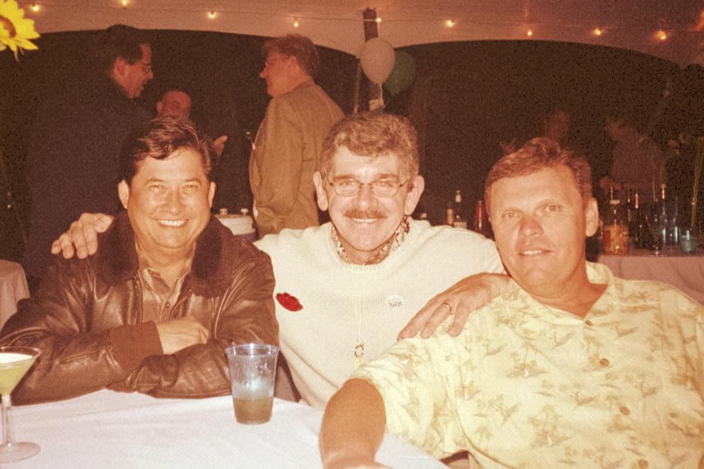 Mike, Gary Ellmer, Haskel Pryor