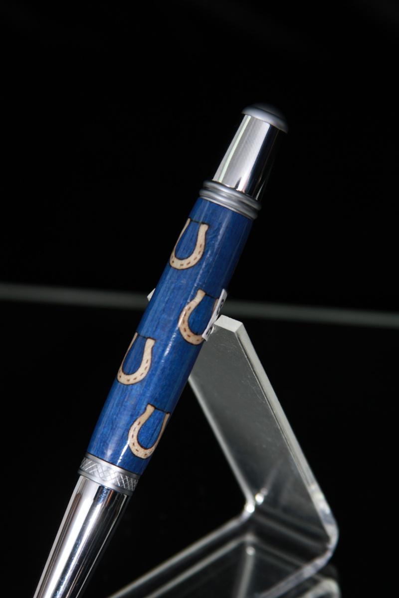 Blue Horse Pen