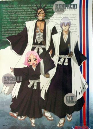 Bleach Kenpachi and Yachiru    Yachiru And Kenpachi