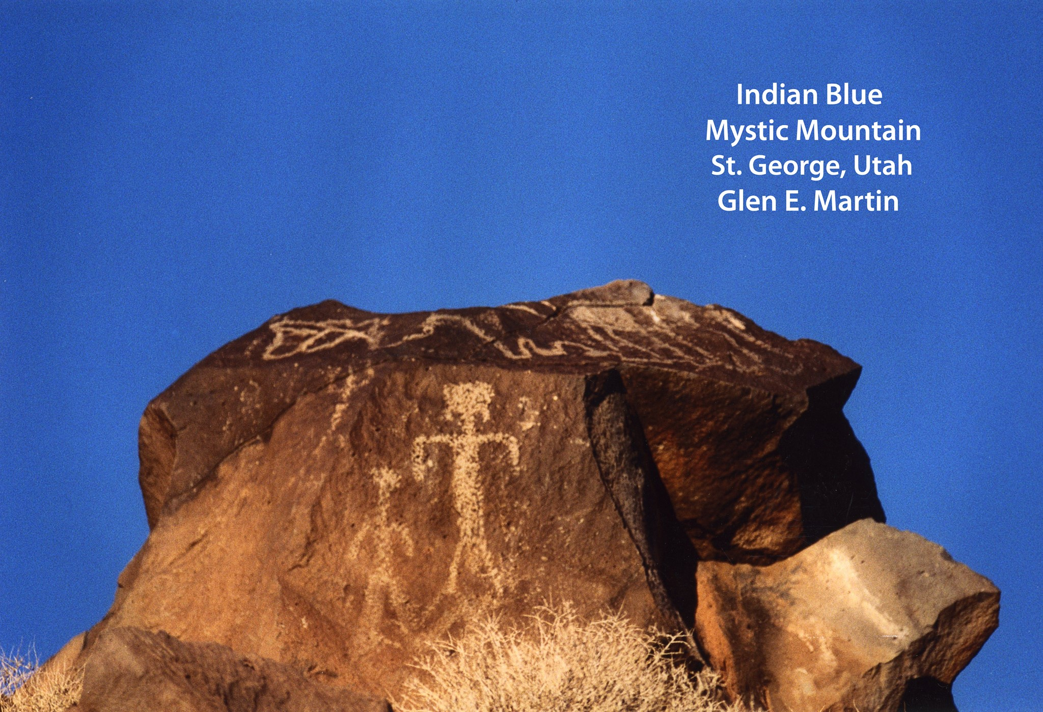 Indian Blue overlooking Mystic Mountain