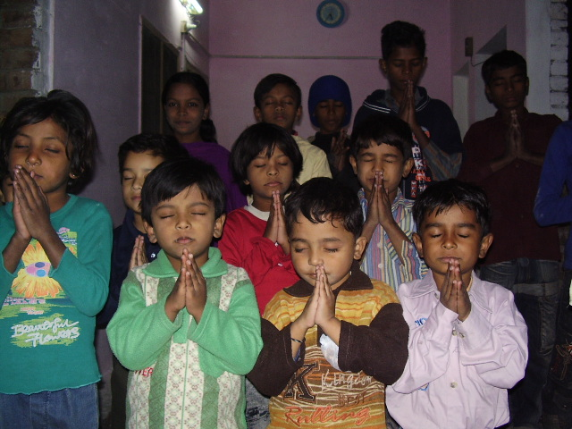 The Children's are Praying to Lord Jesus ; for our ministries ;