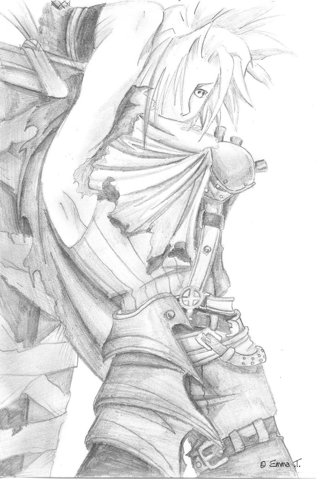 Clouds Drawing Pencil