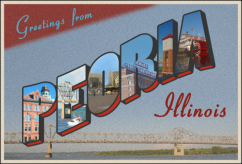 Image result for welcome to peoria sign