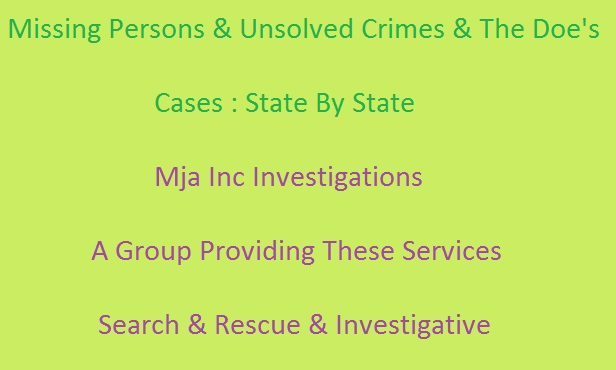 MJA INC INVESTIGATIONS