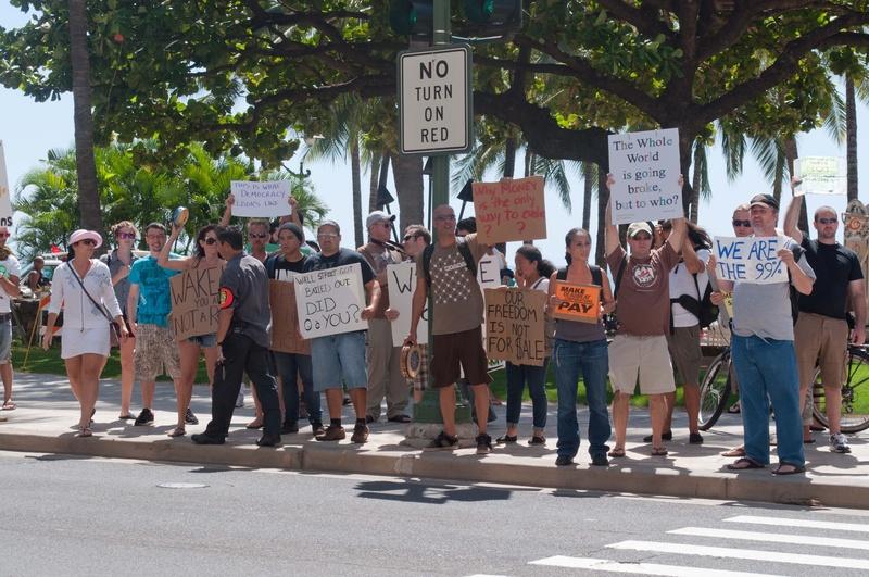 March on Waikiki