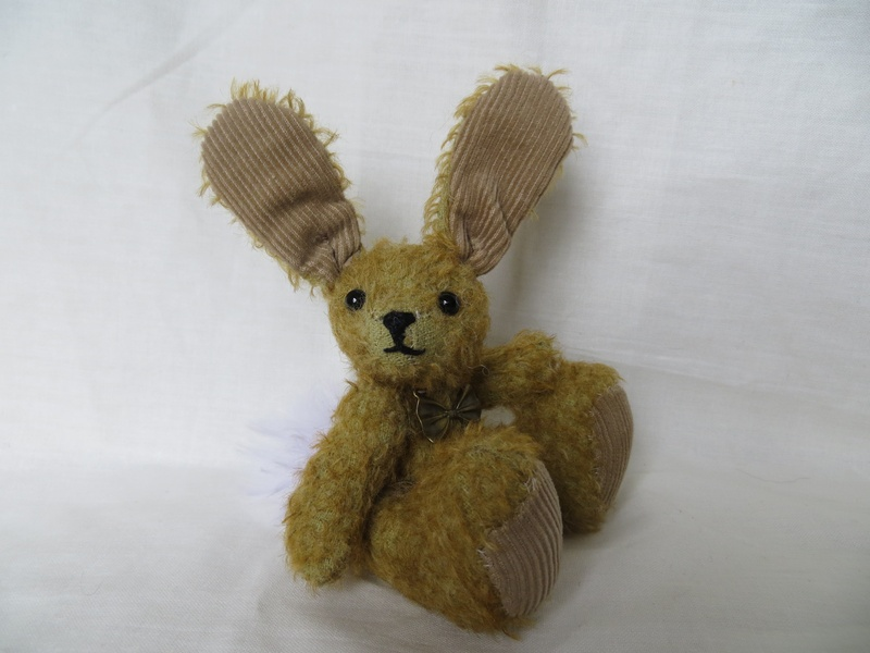 Sits at 12cm (approx 5inches) including those ears
