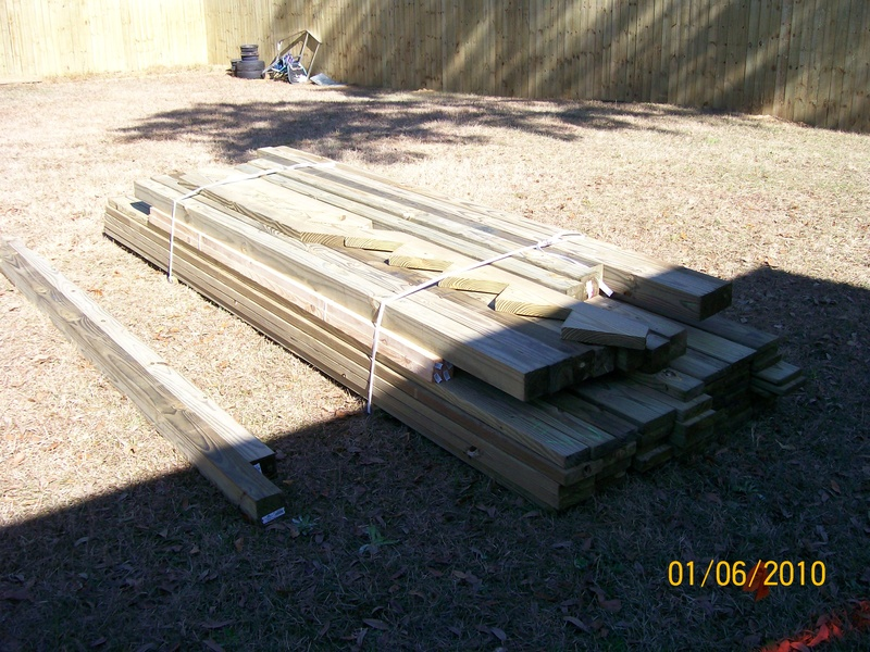 lumber for  deck