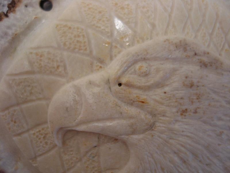 Eagle Head on Bavarian Flag - Joppe 'button'