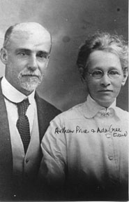 Arthur and Ada Price (nee Evans)