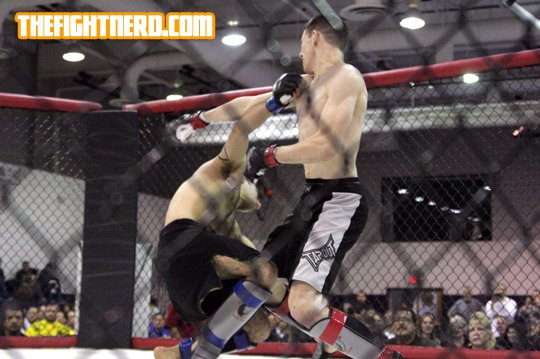 Ben Syers Title  fight